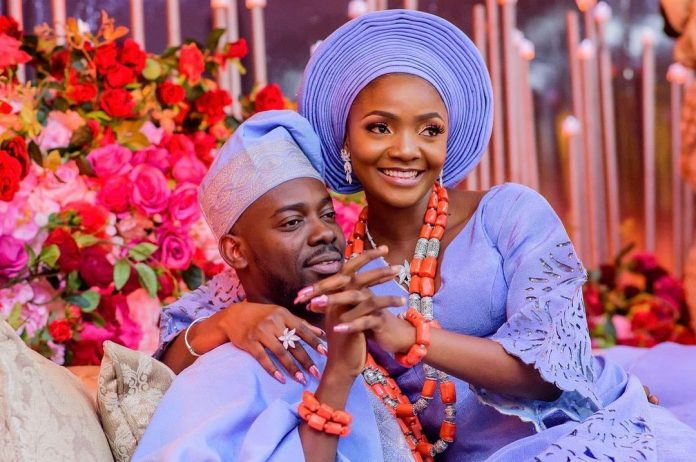 Simi shares invisible wedding photos to celebrate her 2nd birthday