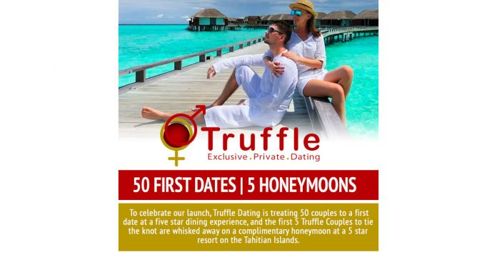 New luxury dating app gives away 50 first dates and 5 honeymoons