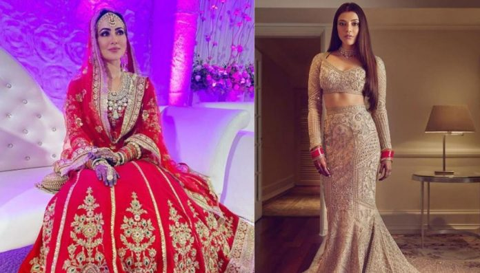 Bollywood brides setting wedding fashion trends