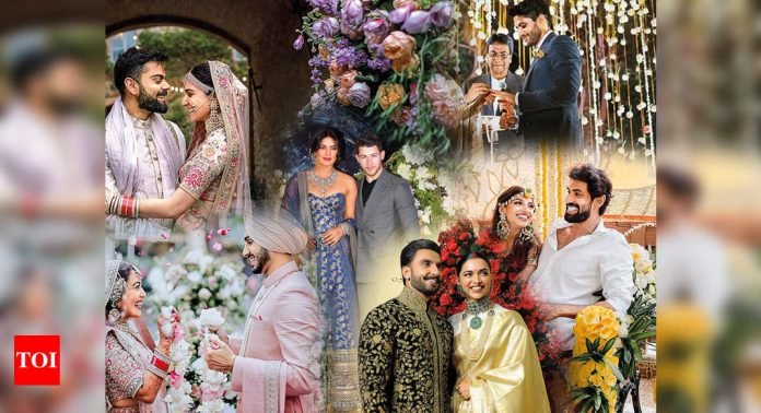 Couples take inspiration from these popular weddings