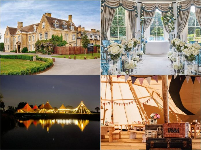 Northamptonshire's most unique and stylish wedding venues