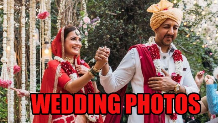 Dia Mirza and Vaibhav: The newly married couple look beautiful together, see wedding photos