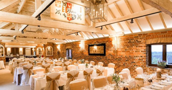 Morley Hayes was named East Midlands Wedding Venue of the Year for the second time