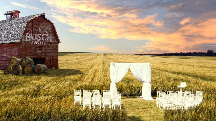 Busch Beer is helping 3 couples pay for and create their dream outdoor wedding during the COVID pandemic