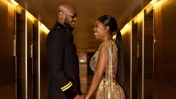 Annie Idibia celebrates husband 2face Idibia on their wedding day [ARTICLE]