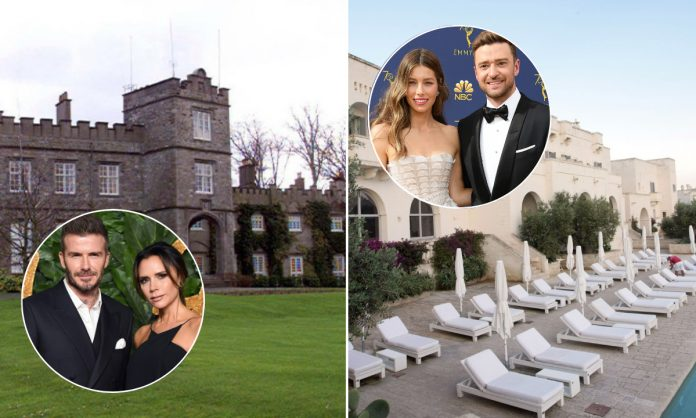 Celebrity wedding venues that are surprisingly cheap: Victoria Beckham, Michelle Keegan, more