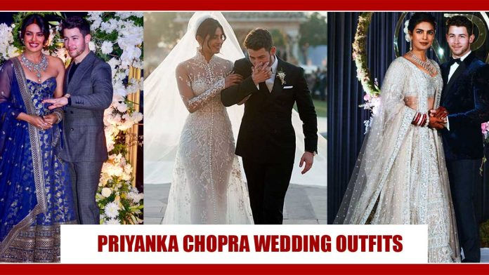 Take cues from Priyanka Chopra Jonas for the hottest wedding looks