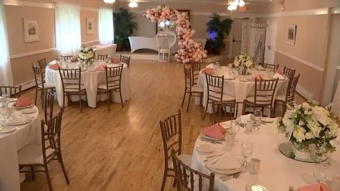 New Jersey wedding venues look forward to seeing business return to normal as COVID restrictions ease