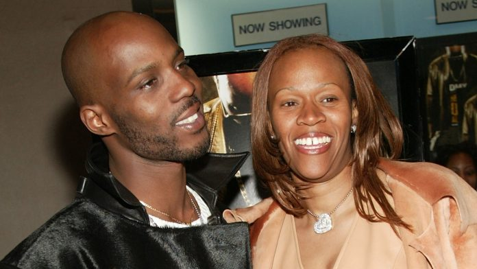 DMX's ex-wife Tashera Simmons pays tribute to him on her 50th birthday with throwback wedding photos