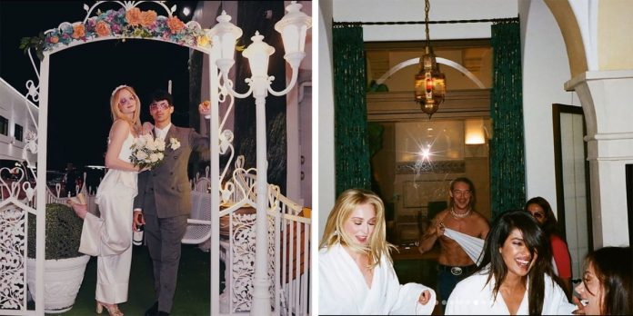 See the new wedding photos of Sophie Turner and Joe Jonas in Las Vegas
