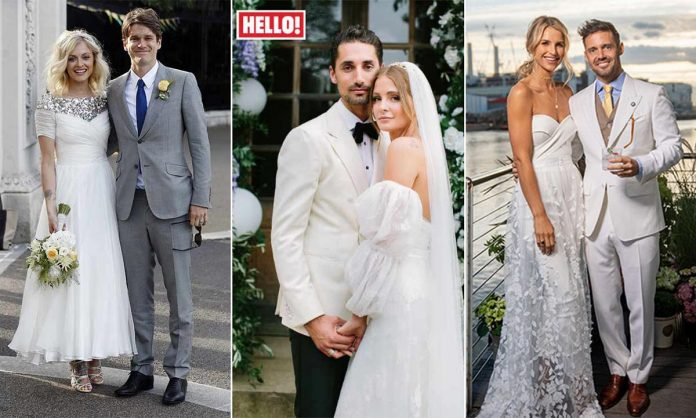 Planning a summer wedding? 14 celebrity brides you need to take inspo from