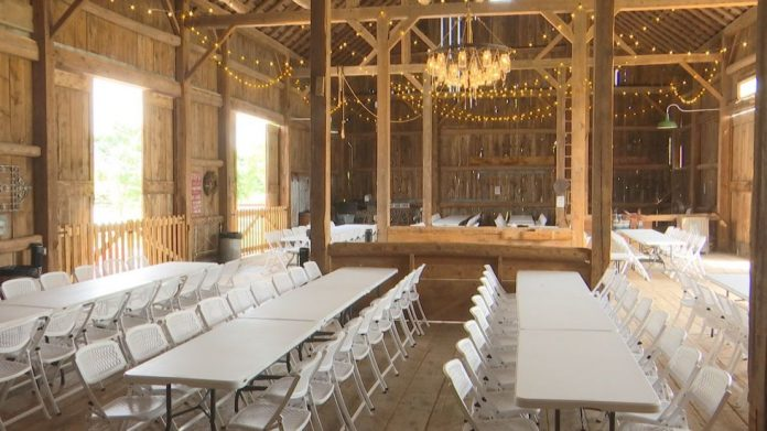 High demand for wedding locations after pandemic postponements