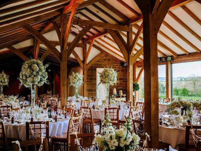 The Northamptonshire wedding location is one of the top four most popular in the UK