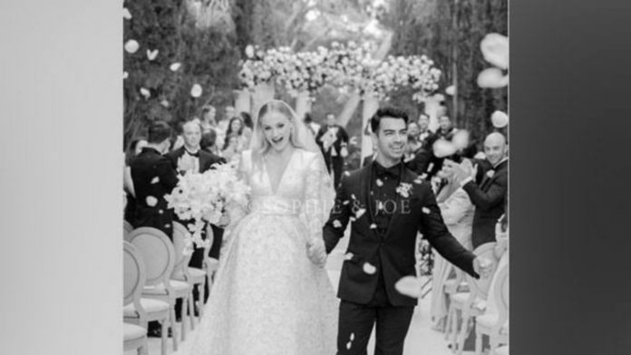 Here's a look at Sophie Turner and Joe Jonas' dream wedding;  See pictures